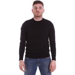 textil Herre Pullovere John Richmond CFIL-117 Sort