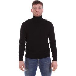 textil Herre Pullovere John Richmond CFIL-007 Sort