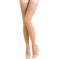 Undertøj Dame Tights / Pantyhose and Stockings Gabriella 201-EXCLUSIVE BEIGE Beige
