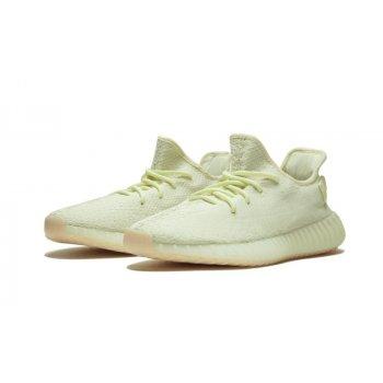 Sko Lave sneakers adidas Originals Yeezy Boost 350 V2 Butter Butter/Butter