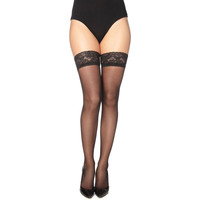 Undertøj Dame Tights / Pantyhose and Stockings Gabriella 203-LINETTE NERO Sort