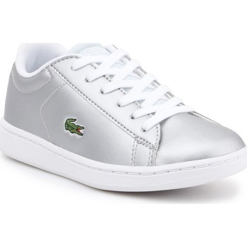 Sko Børn Lave sneakers Lacoste kids 7-34SPC0006334 silver