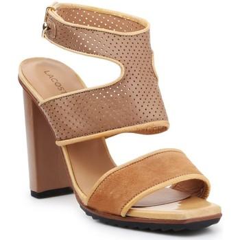 Sko Dame Sandaler Lacoste 7-25SRW1201158 brown