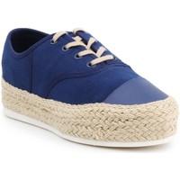 Sko Dame Lave sneakers Lacoste Rene Platform Espa STW 7-25STW1002120 navy