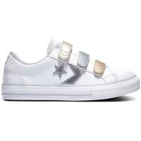 Sko Børn Lave sneakers Converse Star player 3v ox Hvid