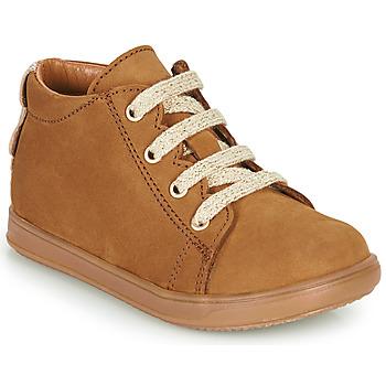 Sko Pige Lave sneakers Little Mary CLELIE Brun
