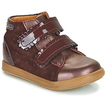 Sko Pige Høje sneakers Little Mary CRISTIE Bordeaux