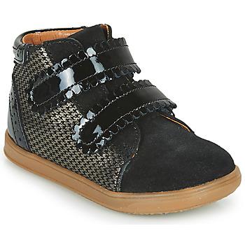 Sko Pige Høje sneakers Little Mary CRISTIE Sort