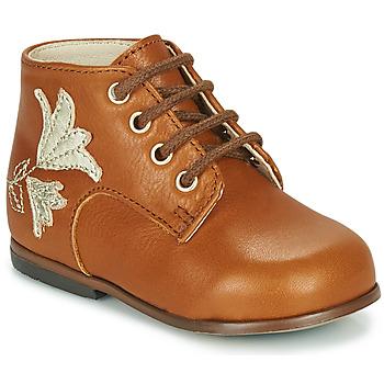 Sko Pige Høje sneakers Little Mary MEIGE Brun