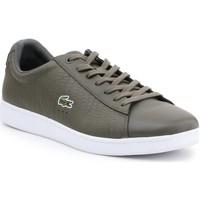 Sko Herre Lave sneakers Lacoste 7-33SPM10373T2 olive green