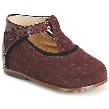 Sko Pige Høje sneakers Little Mary BETHANY Bordeaux