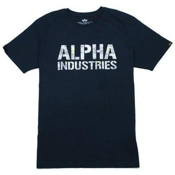 T-shirts m. korte ærmer Alpha  T-shirt  Camo Print