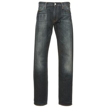textil Herre Lige jeans Levi's 504 REGULAR STRAIGHT FIT Blå / Mørk