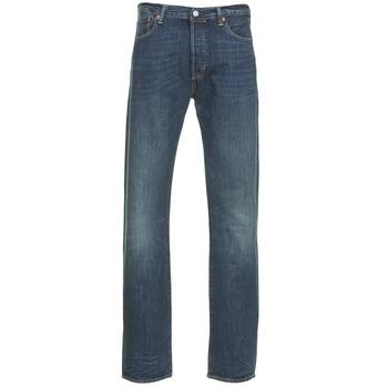 textil Herre Lige jeans Levi's 501 THE ORIGINAL Blå / Mørk