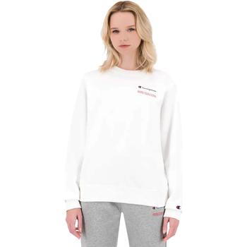 textil Dame Sweatshirts Champion 114712 hvid
