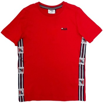 textil Børn T-shirts m. korte ærmer Fila 688118 Rød