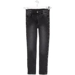 textil Børn Jeans Losan 024-9000AL Sort