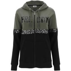 textil Dame Sweatshirts Freddy F0WCLS5 Grøn