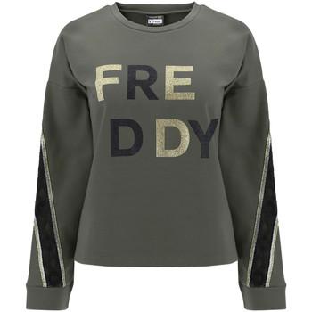 textil Dame Sweatshirts Freddy F0WSDS5 Grøn
