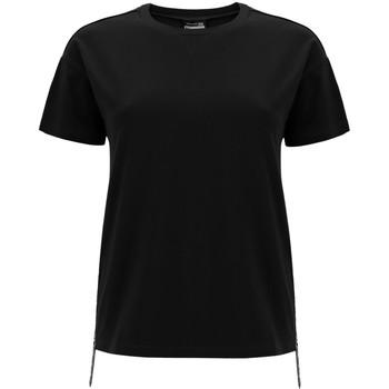 textil Dame T-shirts m. korte ærmer Freddy F0WSDT5 Sort