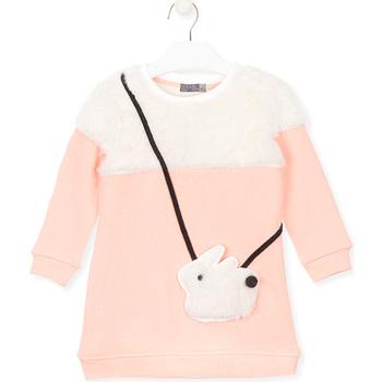 textil Pige Sweatshirts Losan 026-7007AL Lyserød