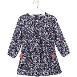 textil Pige Kjoler Losan 026-7021AL Blå