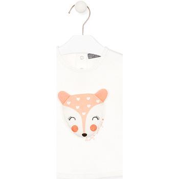 textil Børn Langærmede T-shirts Losan 028-1004AL hvid