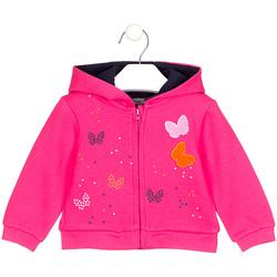 textil Pige Sweatshirts Losan 028-6017AL Lyserød
