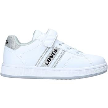 Sko Børn Sneakers Levi's VADS0040S hvid