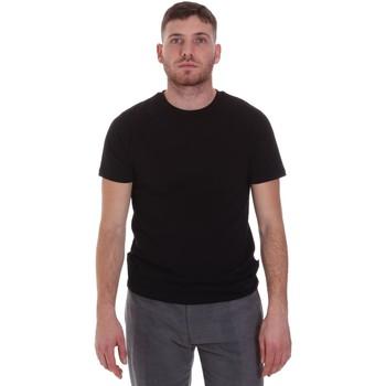 textil Herre T-shirts m. korte ærmer Sseinse MI1692SS Sort