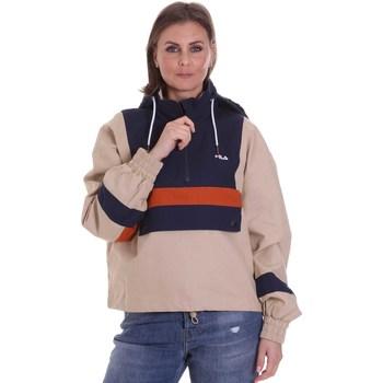 textil Dame Jakker Fila 687922 Beige