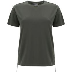 textil Dame T-shirts m. korte ærmer Freddy F0WSDT5 Grøn