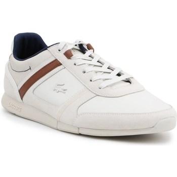 Sko Herre Lave sneakers Lacoste Menerva Hvid, Beige