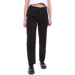 textil Dame Jeans Dickies DK133004BLK1 Sort
