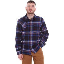 textil Herre Skjorter m. lange ærmer Dickies DK520352EL01 Blå