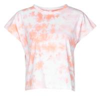 textil Dame T-shirts m. korte ærmer Yurban ONILA Hvid / Pink