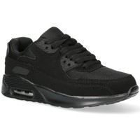 Sko Dame Lave sneakers Luna Collection 55109 Sort