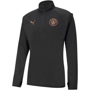 textil Herre Sweatshirts Puma Sweat Manchester City Warmup noir/rose brillant