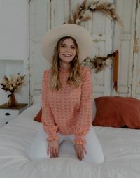 textil Dame Toppe / Bluser Céleste HIRONDELLE Pink