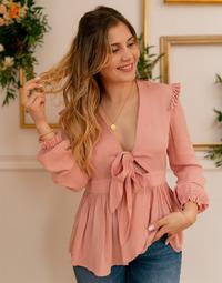 textil Dame Toppe / Bluser Céleste ROSSIGNOL Pink