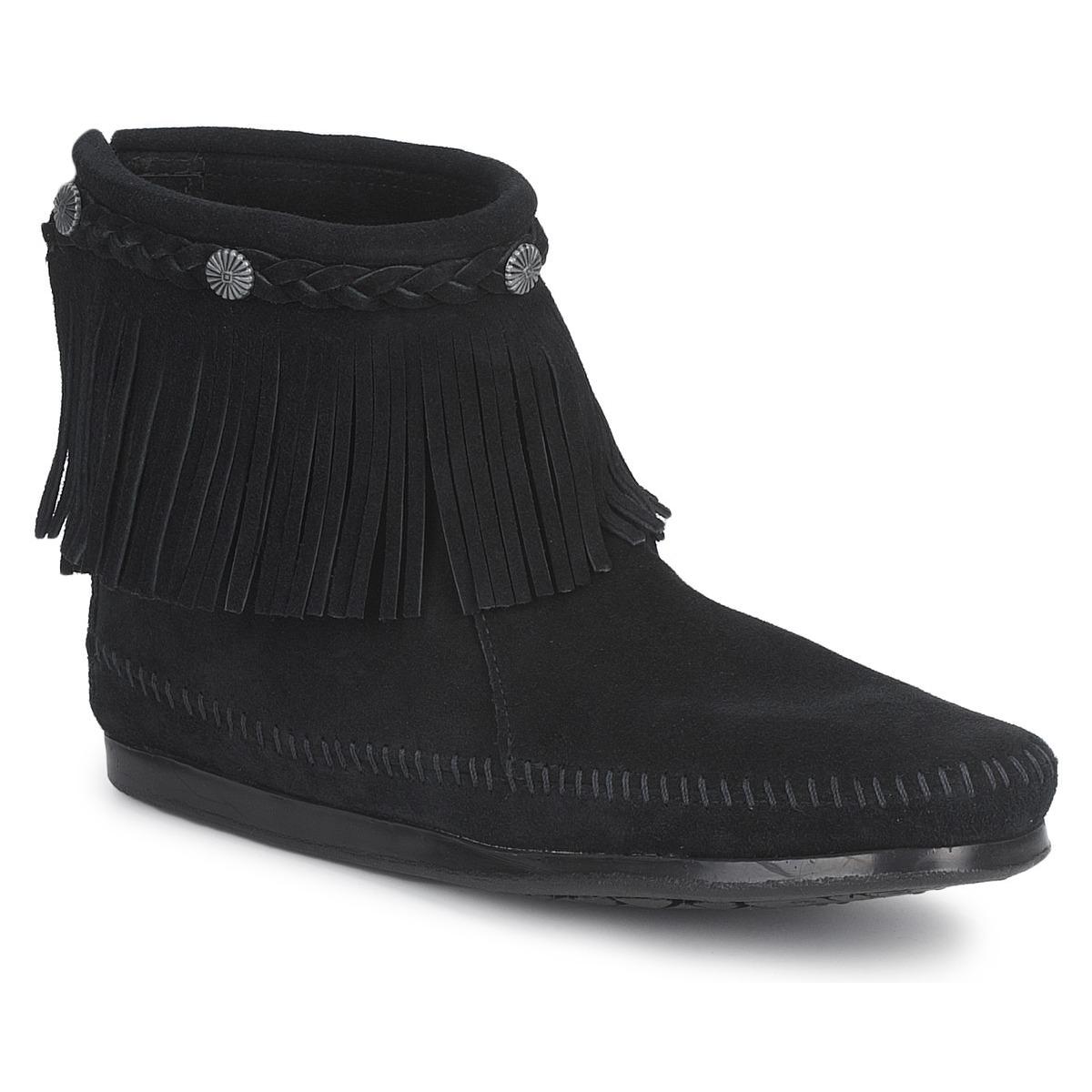 Støvler Minnetonka  HI TOP BACK ZIP BOOT
