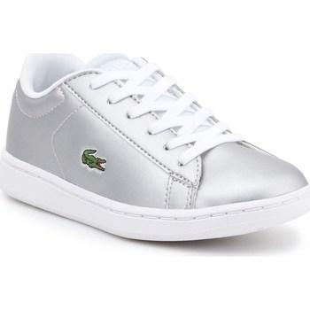 Sko Børn Lave sneakers Lacoste 734SPC0006334 Sølv