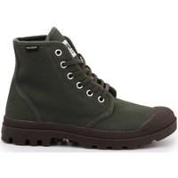 Sko Herre Høje sneakers Palladium Manufacture Pampa HI Originale Grøn, Brun