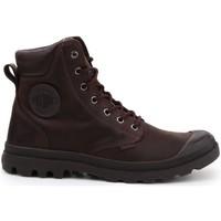 Sko Dame Høje sneakers Palladium Manufacture Pampa Cuff WP Lux Brun