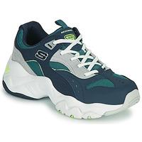 Sko Dame Lave sneakers Skechers D'LITES 3.0/OCEAN CLOUD Marineblå
