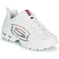 Sko Dame Lave sneakers Skechers ENERGY/SKY VISION Hvid