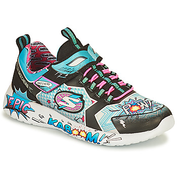 Sko Dame Lave sneakers Skechers DYNAMIGHT/HERO STATUS Flerfarvet