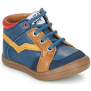 Sko Dreng Høje sneakers GBB ASTORY Blå