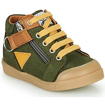 Sko Dreng Høje sneakers GBB TIMOTHE Grøn