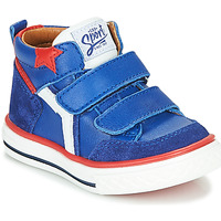Sko Dreng Høje sneakers GBB FLAVIO Blå
